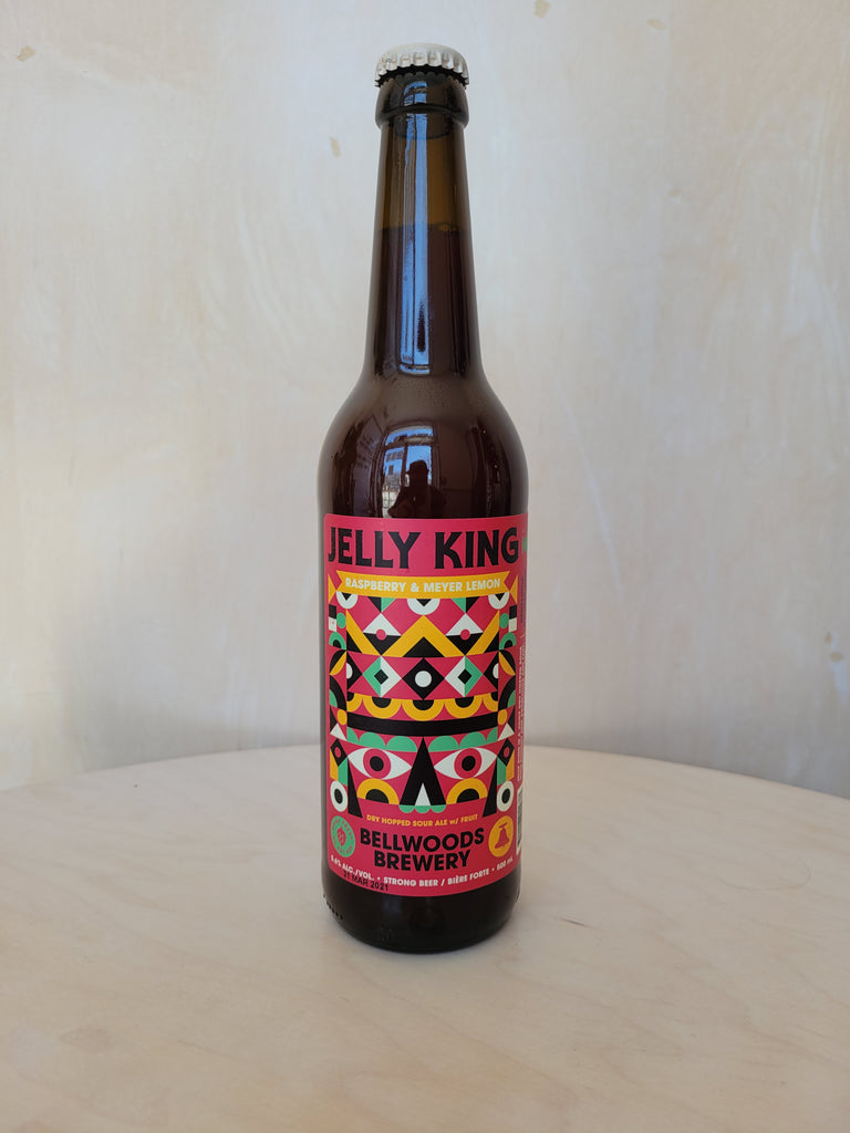 Bellwoods - Jelly King: Raspberry & Meyer Lemon (D.H Sour w/ Fruit) / 500mL