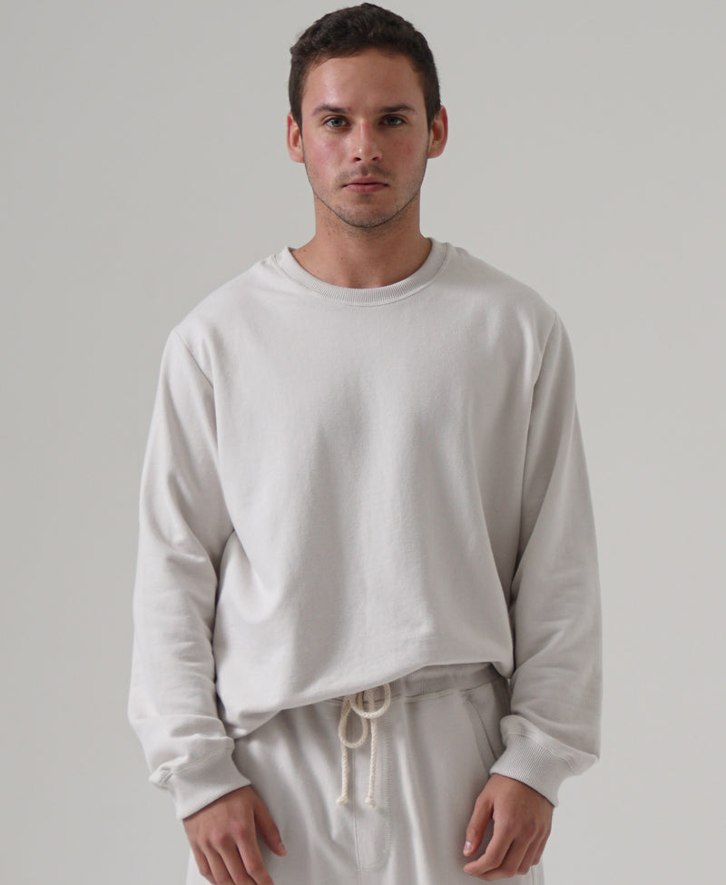 Sweatshirt Mens  French Terry - 100% cotton
