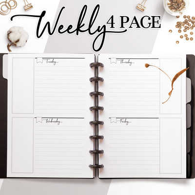 Weekly 4 Page