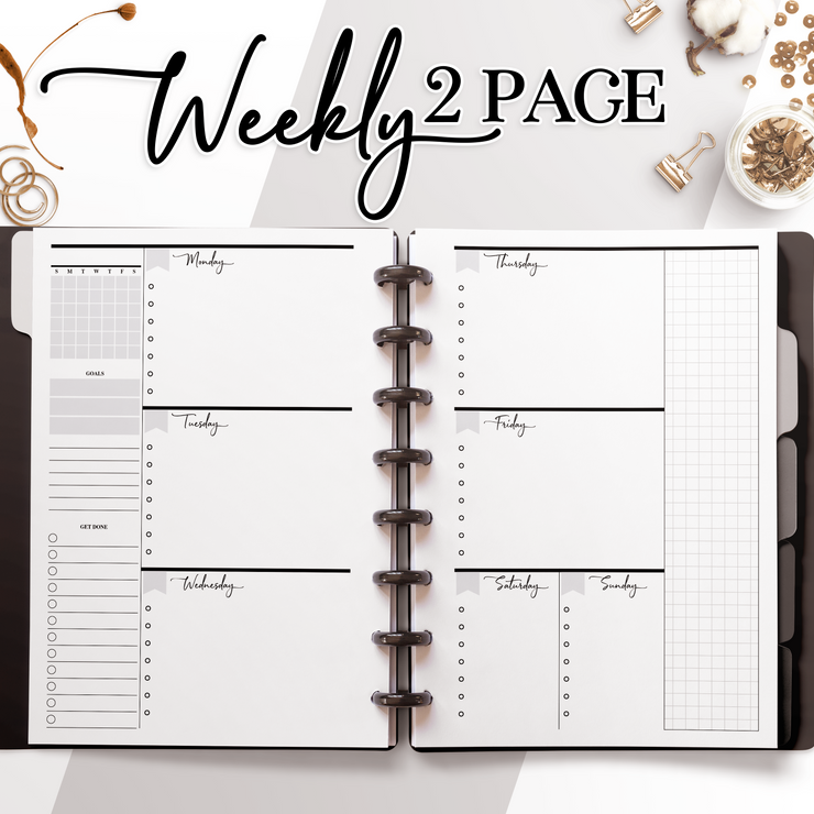 Weekly Two Page