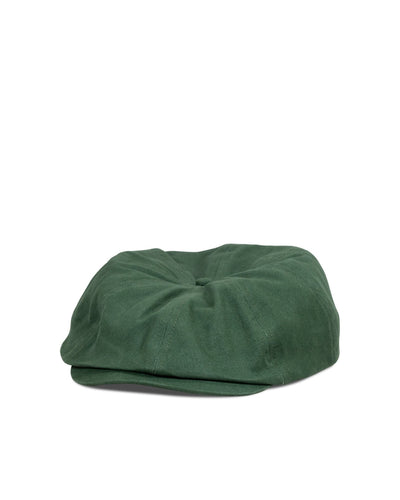 Big Brood Snap Cap, Green Cotton - Oddjob® Hats