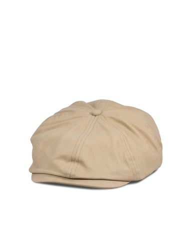 Big Brood Snap Cap, Khaki Cotton - Oddjob® Hats