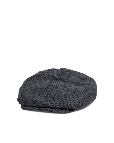 Big Brood Snap Cap, Wool Herringbone - Oddjob® Hats