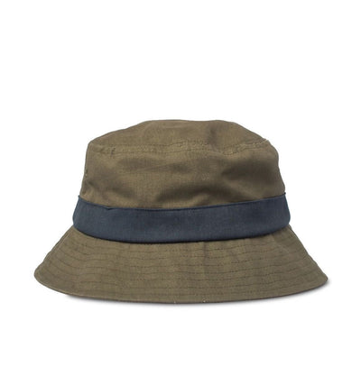 Big Bucket Hat, Green/Navy - Oddjob® Hats