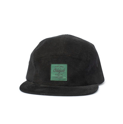 Big Camp Hat, Corduroy, Black - Oddjob® Hats