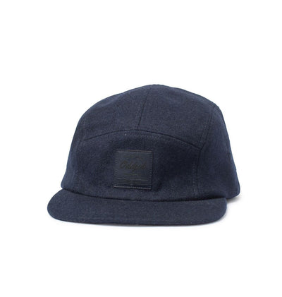 Big Camp Hat, Navy Wool - Oddjob® Hats