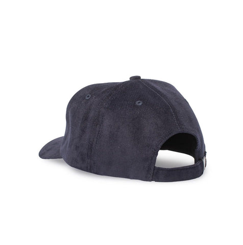 Big Curved Bill Hat, Navy Corduroy - Oddjob® Hats