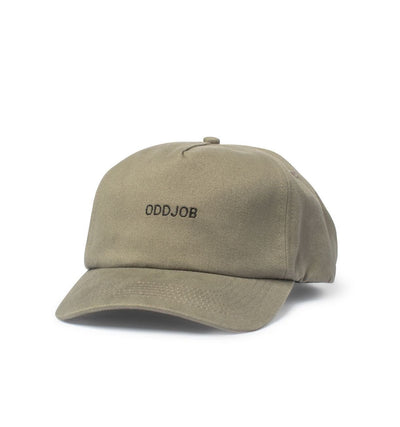 Big Curved Bill Hat, Stone - Oddjob® Hats