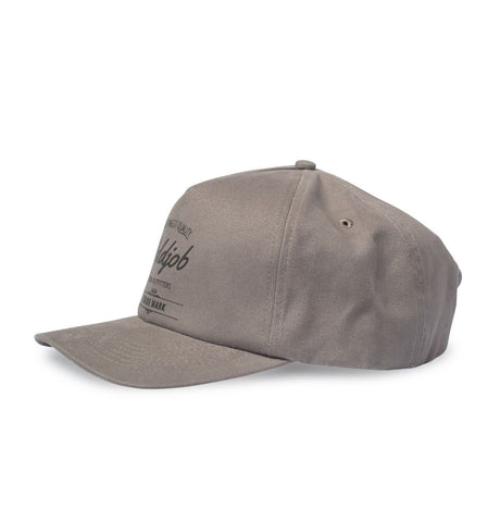 Big Curved Brim Hat, Grey - Oddjob® Hats