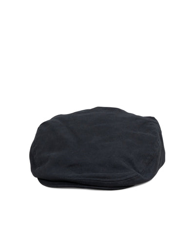 Big Hooligan Cap, Black Cotton - Oddjob® Hats