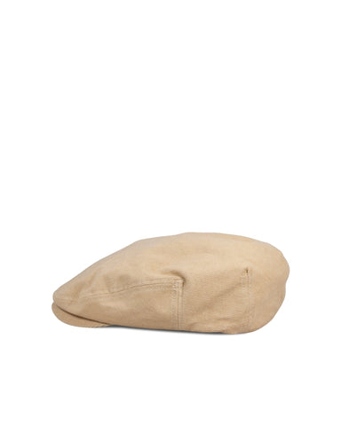 Big Hooligan Cap, Creme Corduroy - Oddjob® Hats