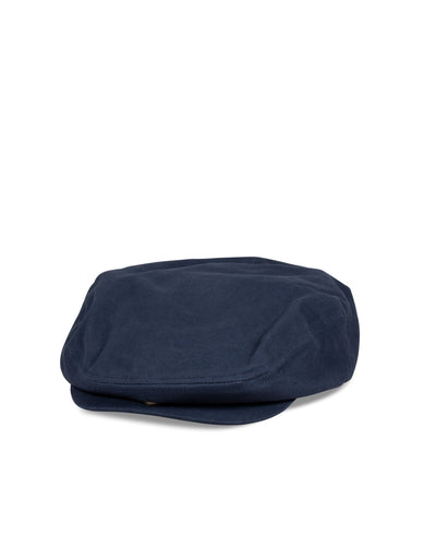 Big Hooligan Cap, Navy Cotton - Oddjob® Hats