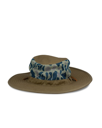 Big Jungle Safari Hat, Green/Brown - Oddjob® Hats