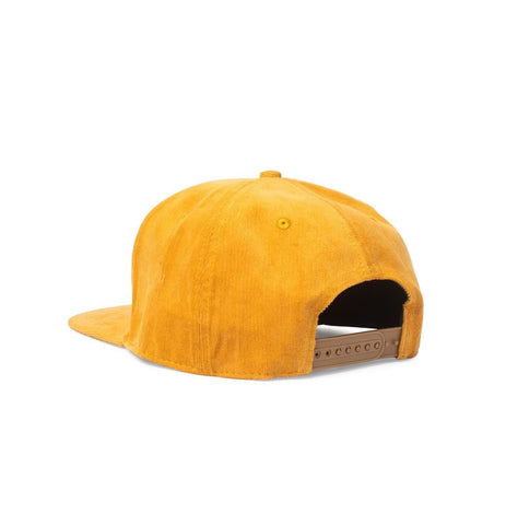 Big Snapback, Orange Corduroy - Oddjob® Hats