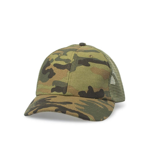 Big Trucker Hat, Camo - Oddjob® Hats