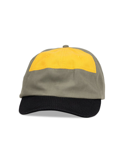 Big Ultralight Cap, Grey/Yellow - Oddjob® Hats