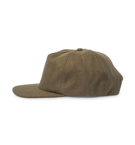 Big Unstructured Snapback, Cedar Wool - Oddjob® Hats