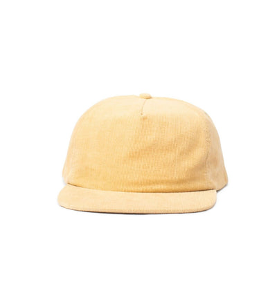Big Unstructured Snapback, Crème Corduroy - Oddjob® Hats