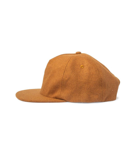 Big Unstructured Snapback, Dirt Wool - Oddjob® Hats