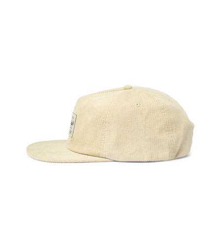 Big Unstructured Snapback, Silver Corduroy - Oddjob® Hats
