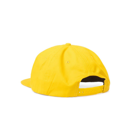 Big Unstructured Snapback, Yellow - Oddjob® Hats