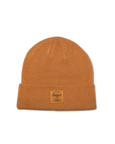 Big Wool Beanie, Burnt Orange - Oddjob® Hats