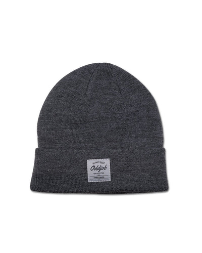 Big Wool Beanie, Charcoal - Oddjob® Hats