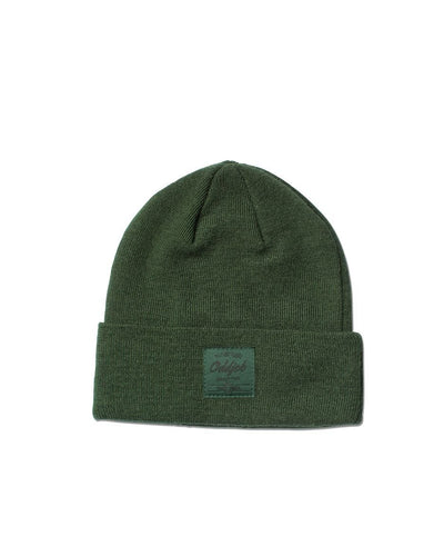 Big Wool Beanie, Green - Oddjob® Hats
