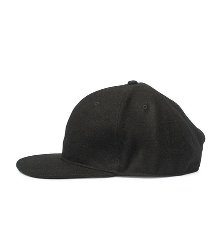 Big Wool Snapback, Black - Oddjob® Hats
