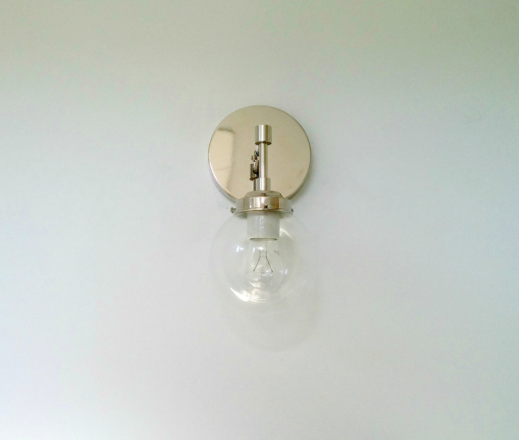 shade white sconce lighting light finish polished chrome off fabric sconces cli p plc with
