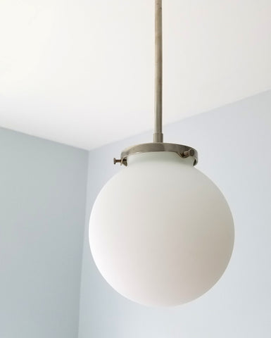 Simple Pendant with Globe Shade