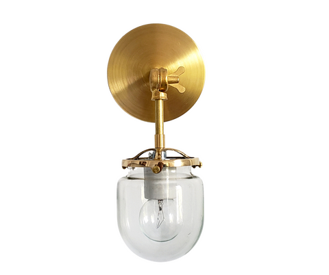Articulating Single West End Sconce