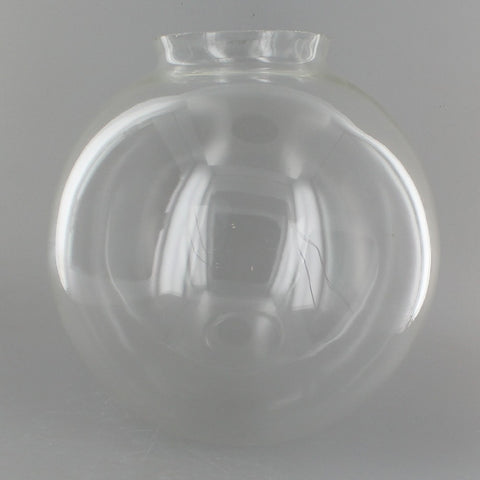 Clear 6 inch Glass Globe
