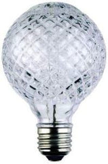 crystal cut light bulb