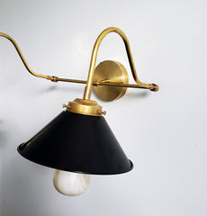 Double Valmont Sconce