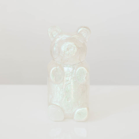 Iridescent Clear Bear