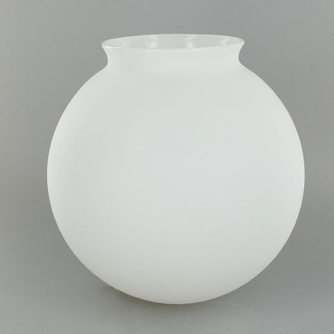 Matte White 6 inch Glass Globe
