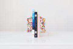 Pill Bear Bookend Set