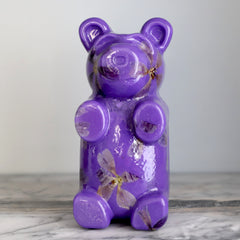 Purple Flower Bear