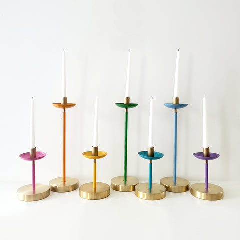 Rainbow Candle Collection