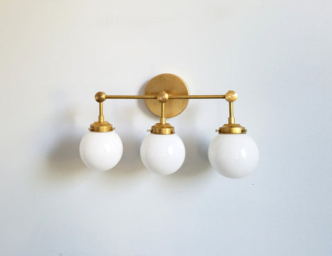 Three-Light Cohen Sconce
