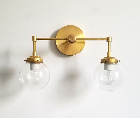 Two-Light Cohen Sconce