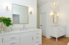 white bathroom renovation chrome sconces sazerac stitches