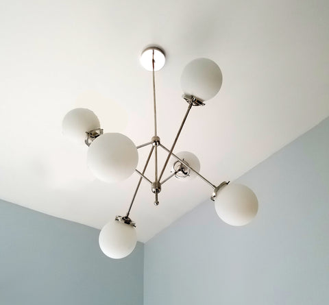 Marigny Chandelier with Glass