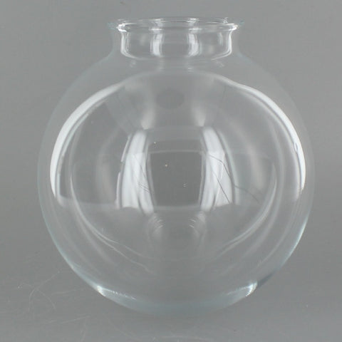 Clear 5 inch Glass Globe