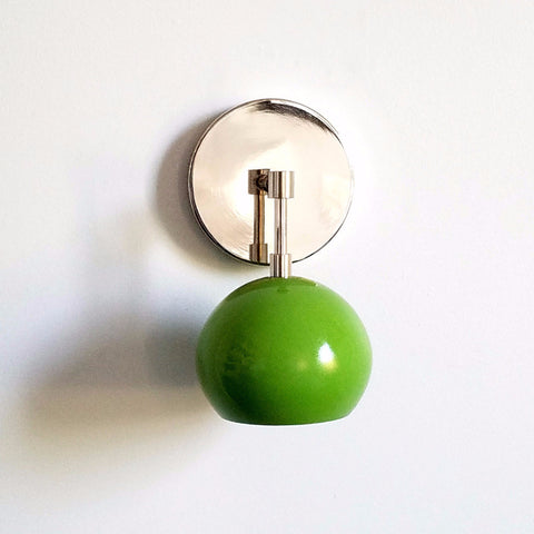 Loa Sconce with Spring Green Shade