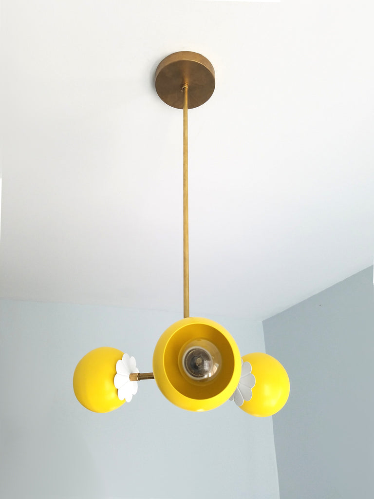 bicycle brass chandelier loa club and sazerac daisy flower s bedroom yellow products stitches children