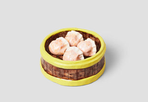 Ceramic Har Gow Dumplings (One-of-a-Kind) by Stephanie Shih