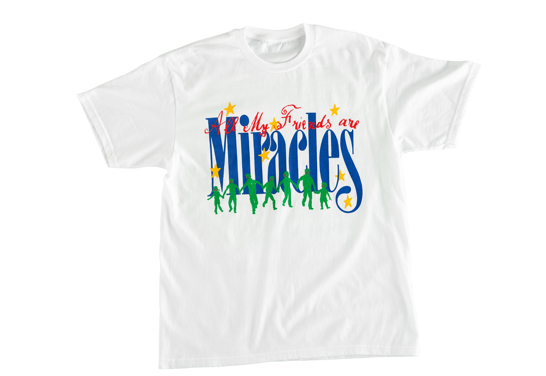All My Friends Are Miracles T-Shirt by Miracle Seltzer