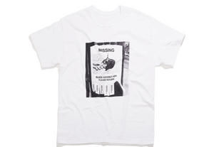 "Morgenstern's ""Missing: Black Coconut Ash"" Tee"